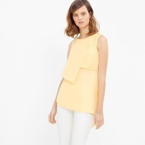 WHBM asymmetrical tiered tunic top